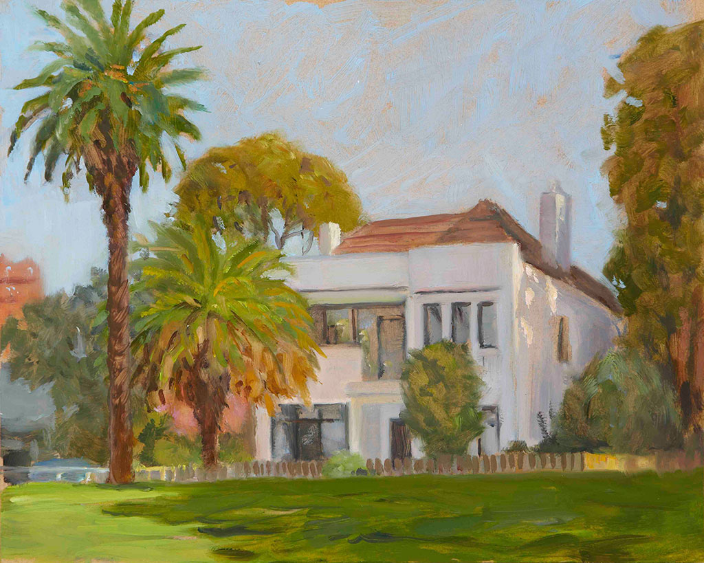 White-House-and-Palms-2013-20x25cm-oil_timber-2013jpg