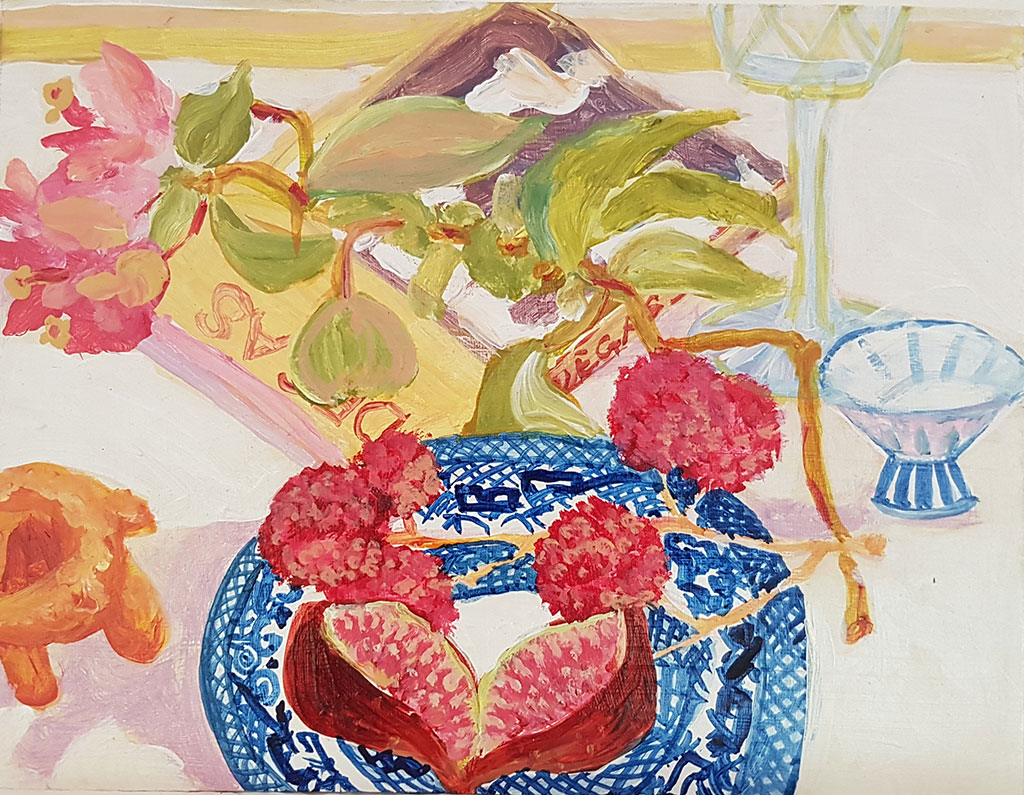 19.-Fig-and-lychees-with-blue-and-white-china-21-x-16.5cm-$510