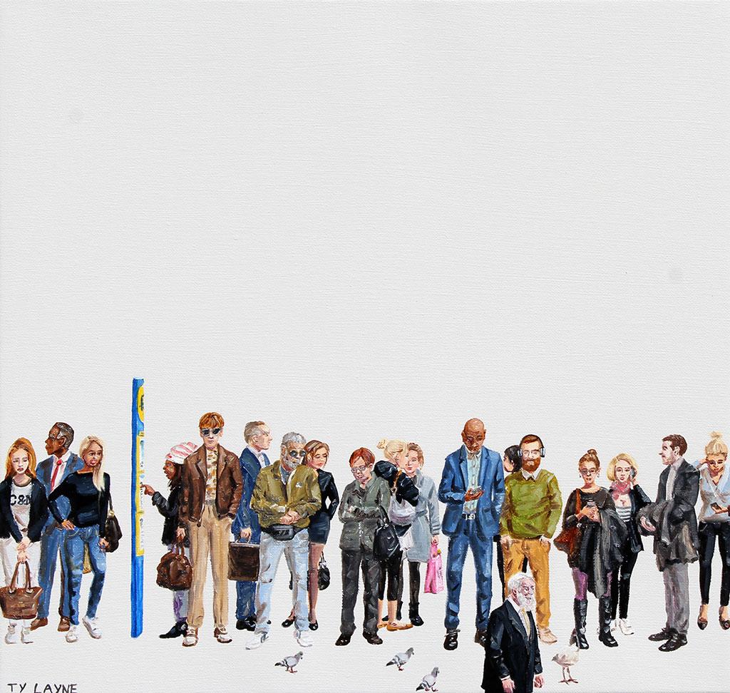 The-Bus-Stop.-Oil-_-acrylic-on-linen,-35cmx37cm-(2016),-$670