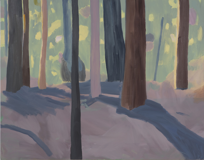 Oil on canvas 84 x 107cm