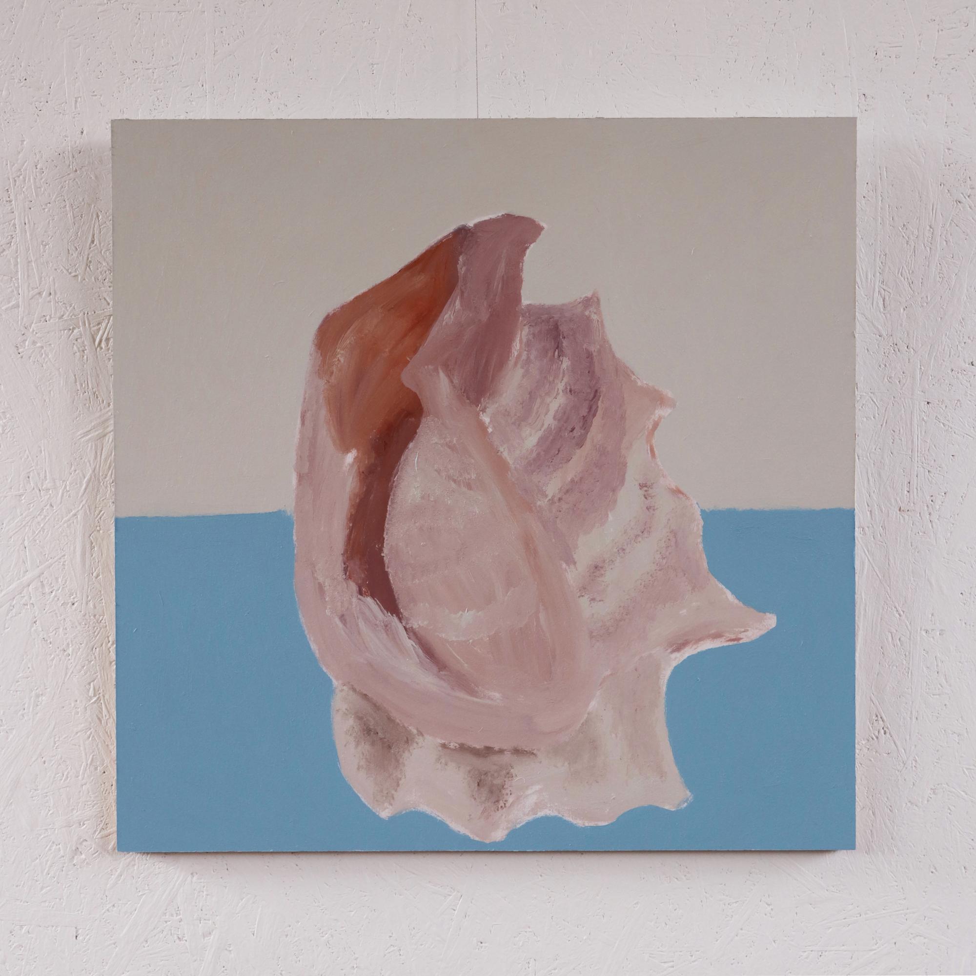 Conch Shell 1.(Full White Border)