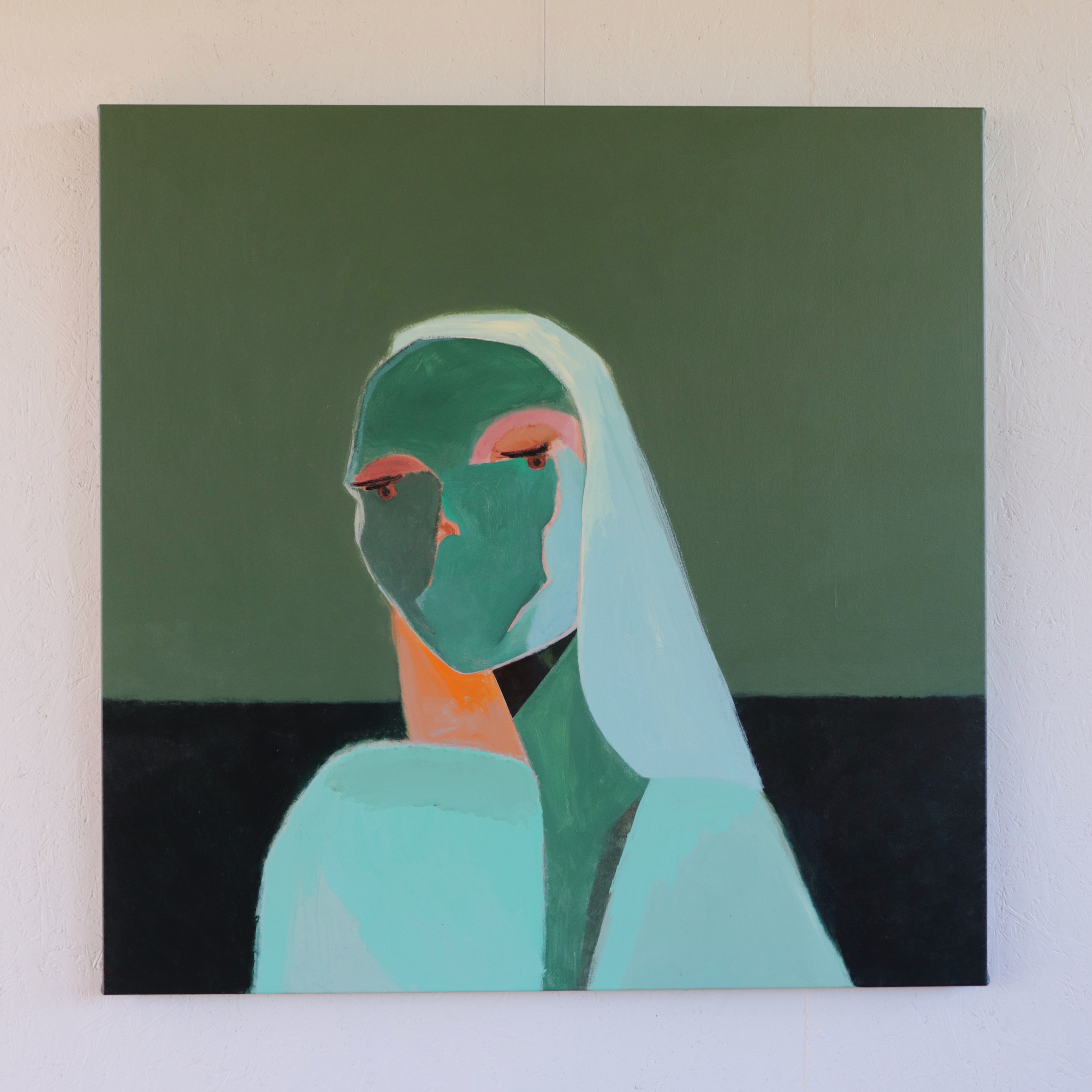 Stacey Rees_Thalassic, 2020_Acrylic on canvas 107 X 107cm